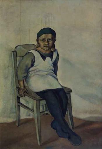VILHO LAMPI Seated Girl (1932)