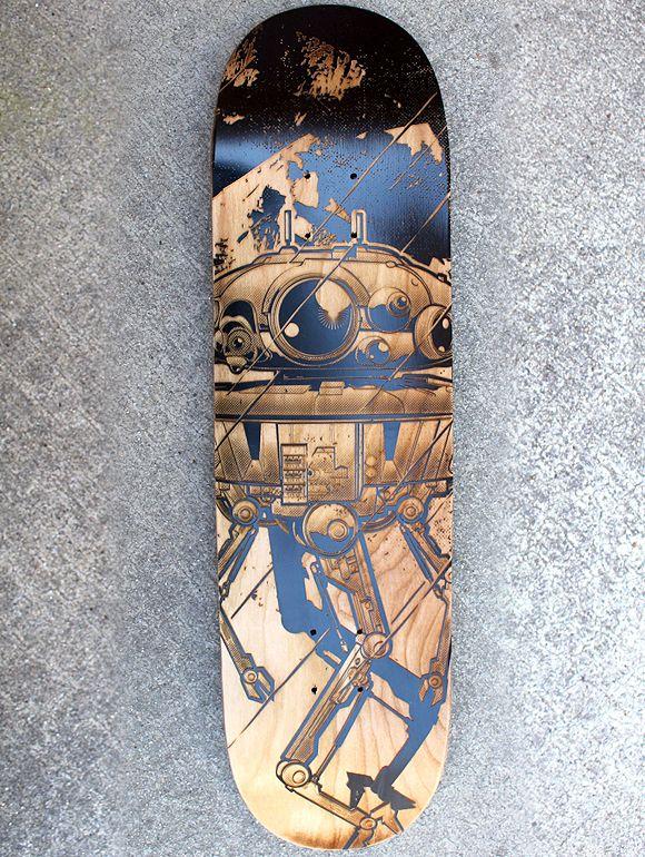 Star Wars Engraved Skateboard Series