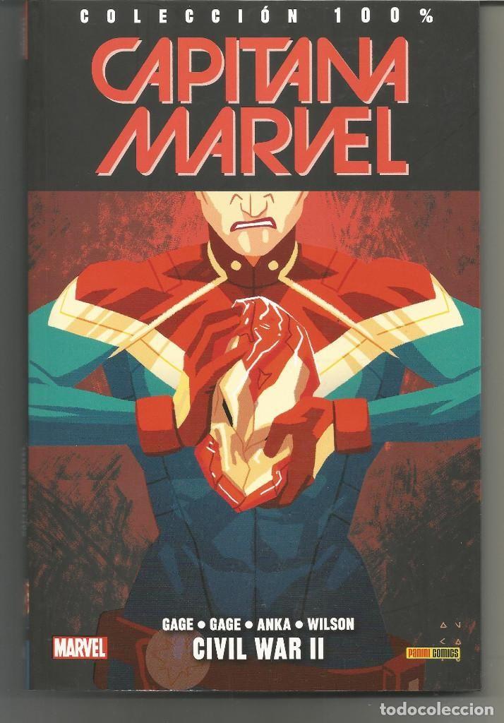 100% Marvel. Capitana Marvel 6 Panini Cómics