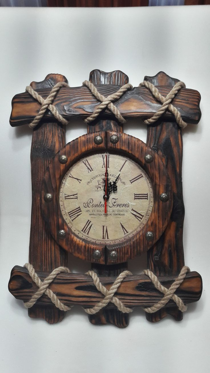 Vintage industrial clock double sided factory clock brilli 233 - Country Clock