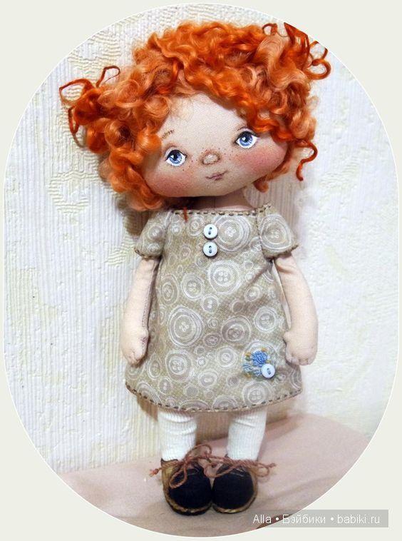 Текстильная кукла изготовление своими руками 936