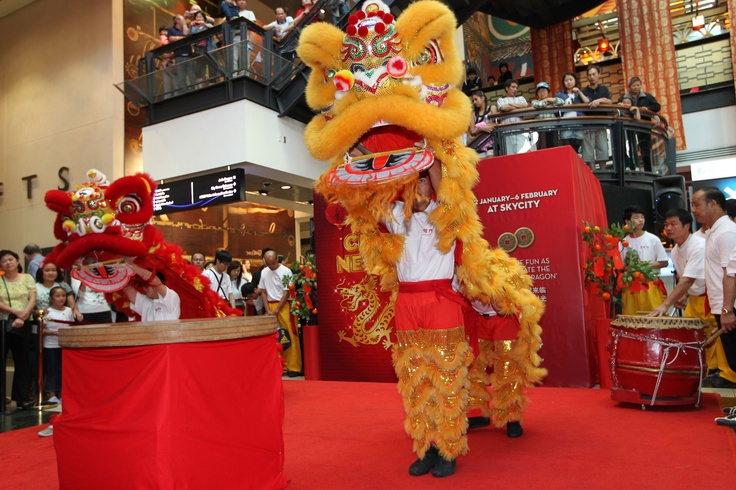 @ SKYCITY Auckland - Dragon Dance for Chinese New Year