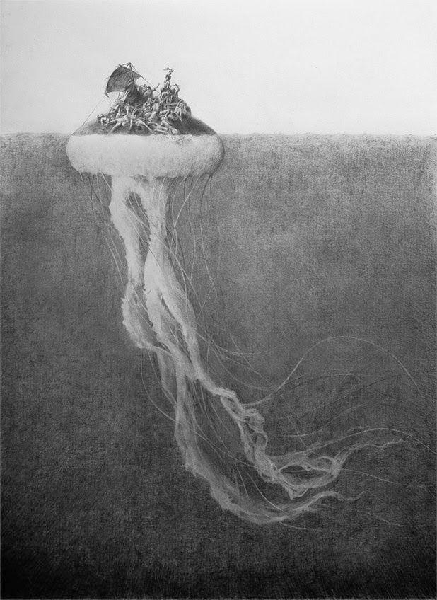 illustrations by pejac
