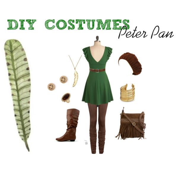 """DIY Costumes: Peter Pan"" by ckcporter on Polyvore"