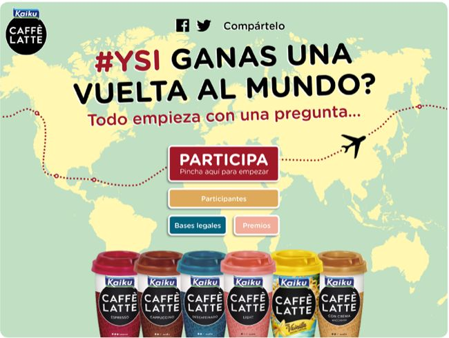 #Kaiku Caffè Latte apuesta por ofrecer #experiencias a sus usuarios