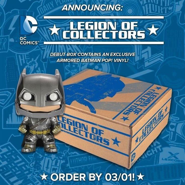 DC Comics Legion of Collectors Funko Subscription Box Available Now + March 2016 Spoilers - http://hellosubscription.com/2016/01/dc-comics-legion-collectors-funko-subscription-box-available-now-march-2016-spoilers/ #LegionOfCollectors  #dccomics #batman #superman