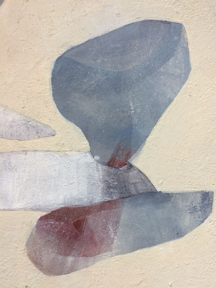 Detail of painting «Fragments» By Elin Muren @murenelin