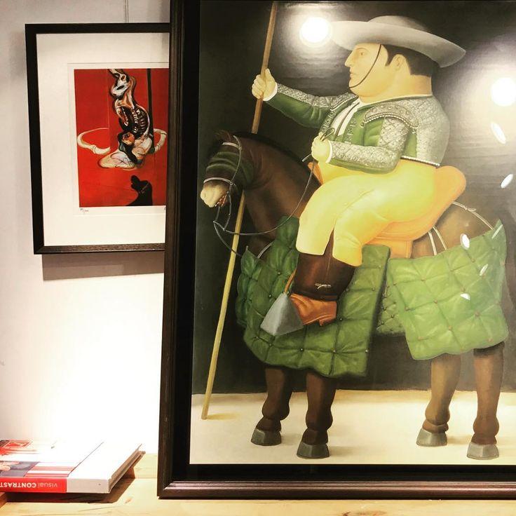 "Polubienia: 39, komentarze: 1 – Artichoke Fresh Prints Co., (@artichoke_fresh_prints) na Instagramie: ""#Picador #FernandoBotero 1986 #ArtichokeFreshPrints"""