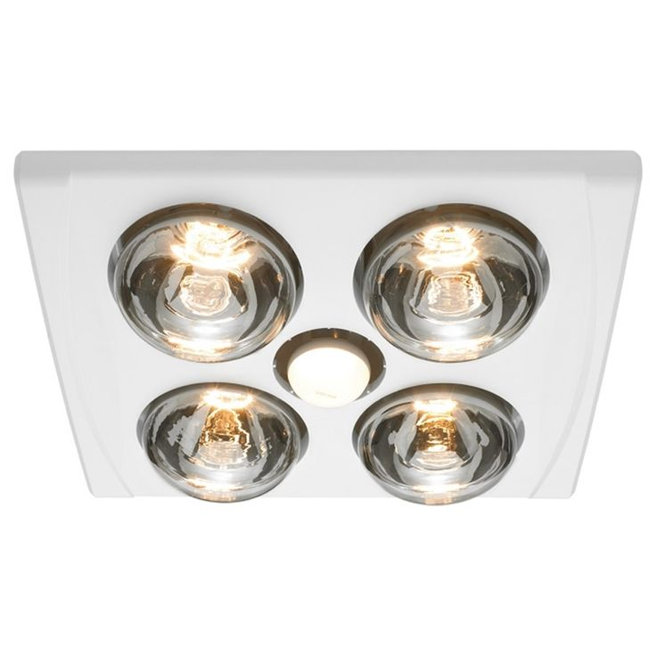 Find Heller 4 x 275W LED White Jack 3in1 Bathroom Heater ...