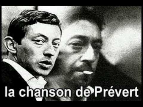 Serge Gainsbourg La Chanson de Prévert French & English Subtitles