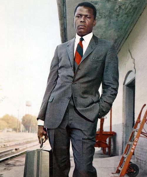 Mr. Sidney Portier.  I love this man.  All class all the time.  A man to respect: a man who demanded, deserved it.