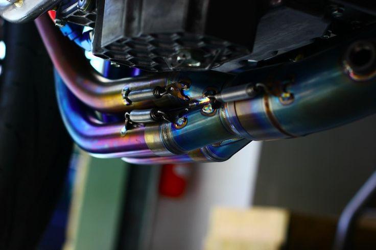 racefit titanium exhaust