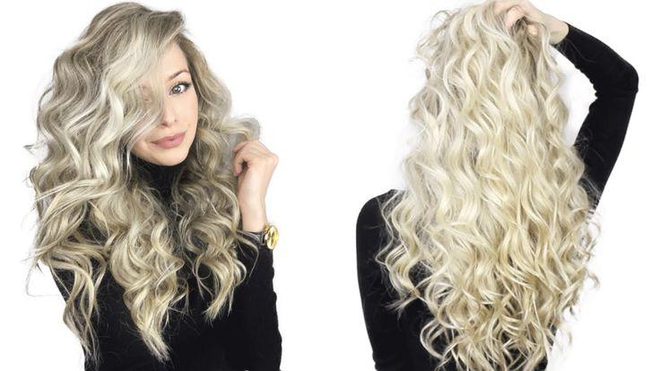 Frizurák göndör hajból - Mert a göndör haj sem unalmas! Minden napra egy új tipp!