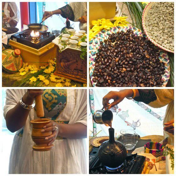 Let's Have coffee the Ethiopian way!