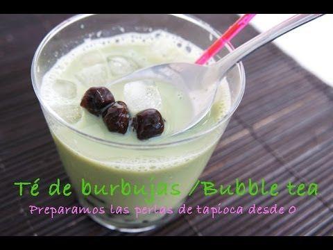 Video receta como hacer perlas de tapioca desde 0 y el té de burbujas | Sabor Oriental