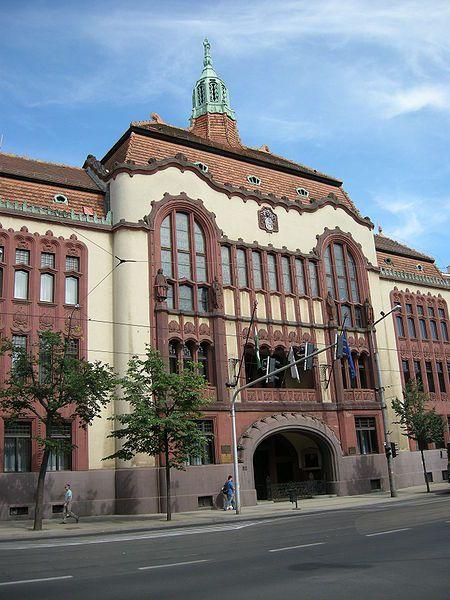 County Hall, Debrecen, Hungary
