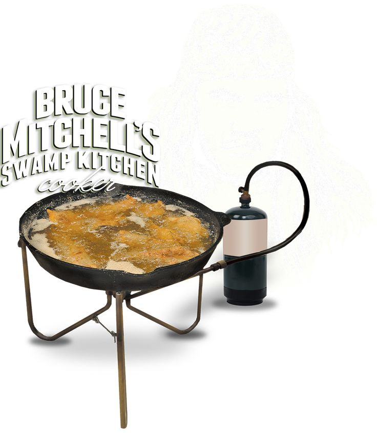 bruce mitchell swamp kitchen cooker