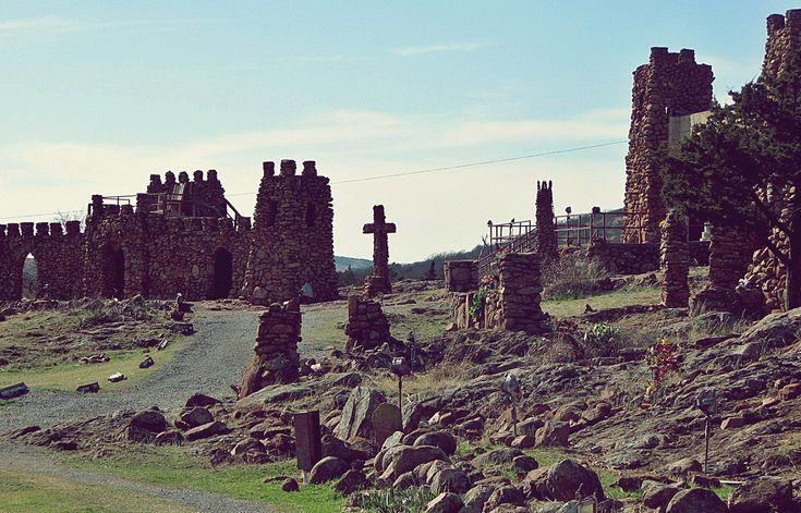 Holy City of the Wichitas - near Lawton Oklahoma