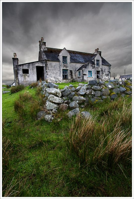 The cottage (Hebrides) By: Jane Goodall Taken in the Isle of Lewis, Outer Hebrides #travel