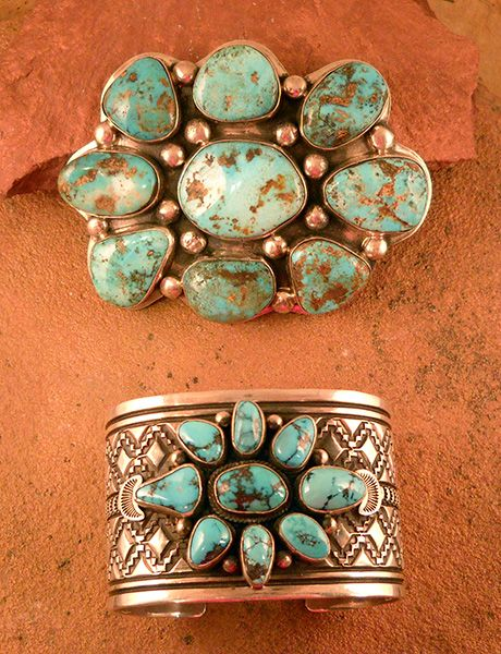 Kingman jewelry, Vintage Native American