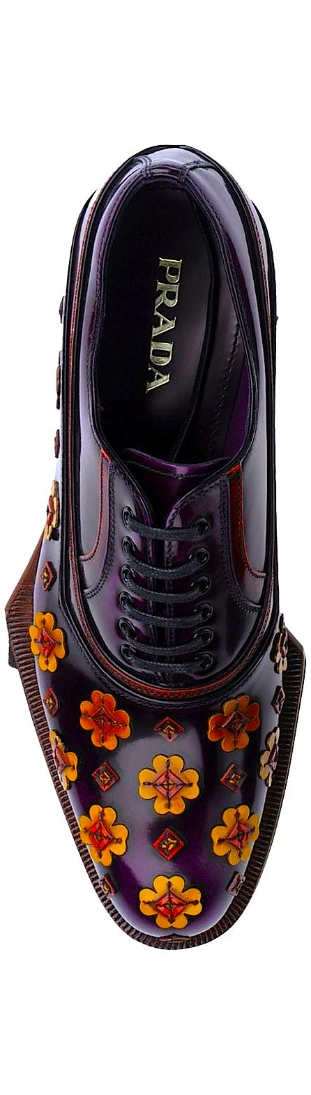 Prada what a shoe it looks like something the pope should only wear