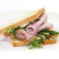 Sandwiches met asperges en ham | Lunch | Power Slim Nederland
