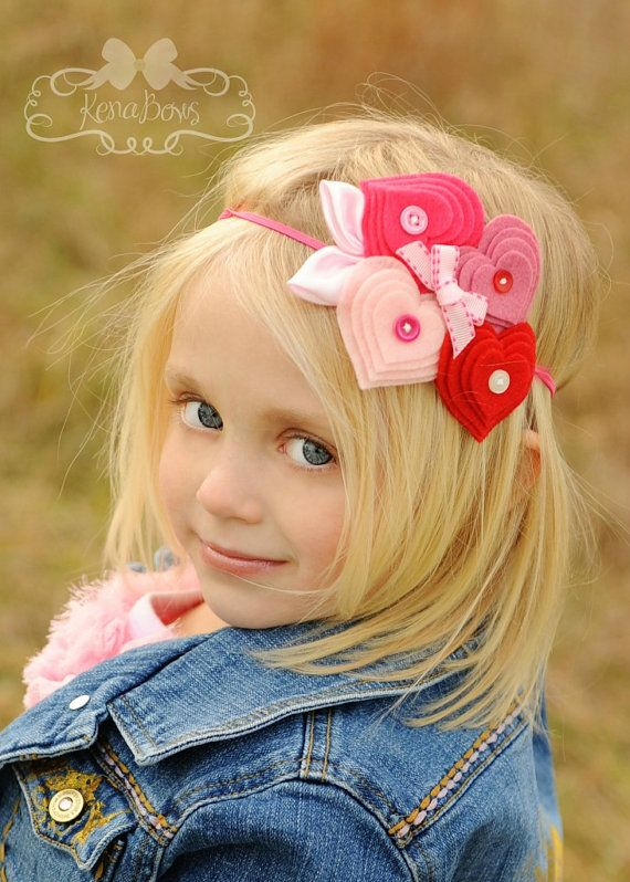 How cute is this awesome hair piece from Kena Bows on Etsy.  http://www.etsy.com/listing/89411697/hearts-of-love-felt-heart-cluster-on?ref=sr_gallery_13&sref=&ga_search_query=felt+hearts&ga_view_type=gallery&ga_ship_to=US&ga_search_type=handmade&ga_facet=handmade