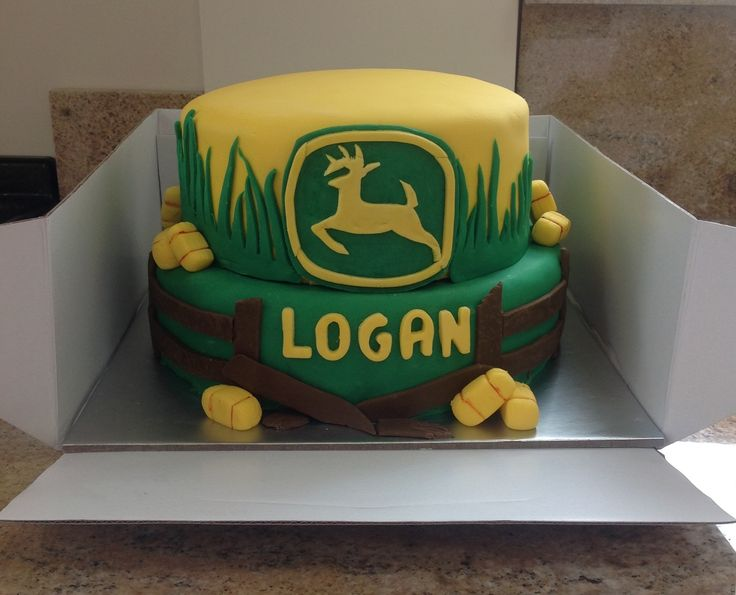 The 25 best John deere cakes ideas on Pinterest Tractor cakes