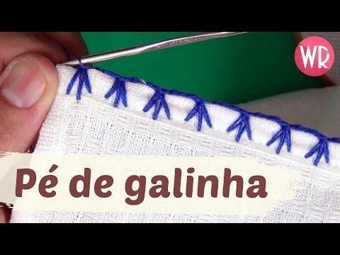 Aprendendo Caseado Pé de Galinha em croche - Aprendendo Crochê - YouTube