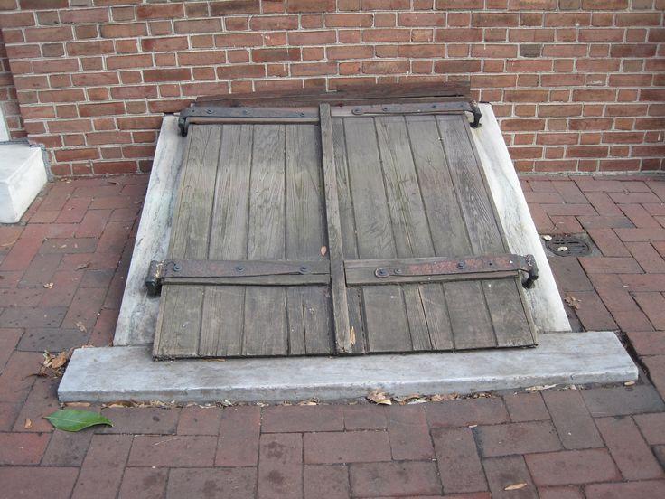 Basement Storm Cellar Doors