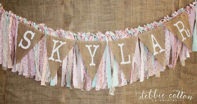 celebrate: shabby chic birthday fun #inspiredhoneybee @Shana Wernow Yi