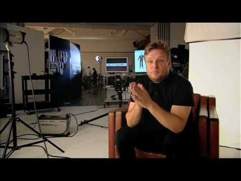 Behind the scenes with Rankin and Peter Jones for BT Business Essence of the Entrepreneur
