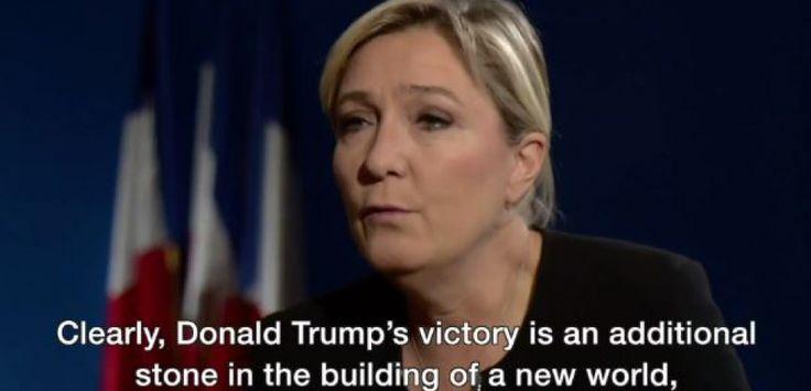 Marine Le Pen sur la BBC fait enrager au Royaume-Uni