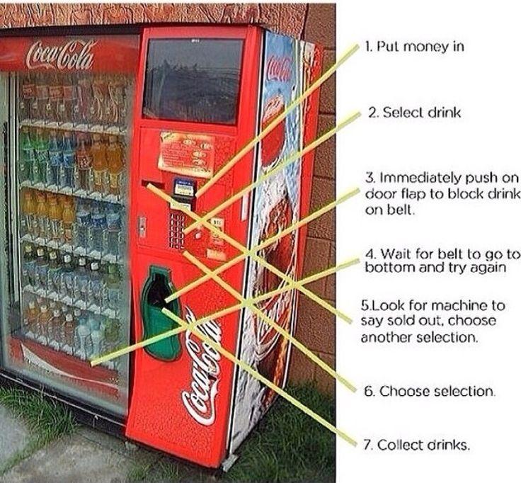 how to hack a pepsi machine