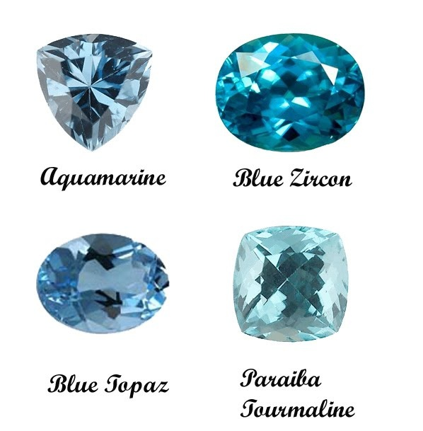 25 best ideas about blue gemstones on topaz