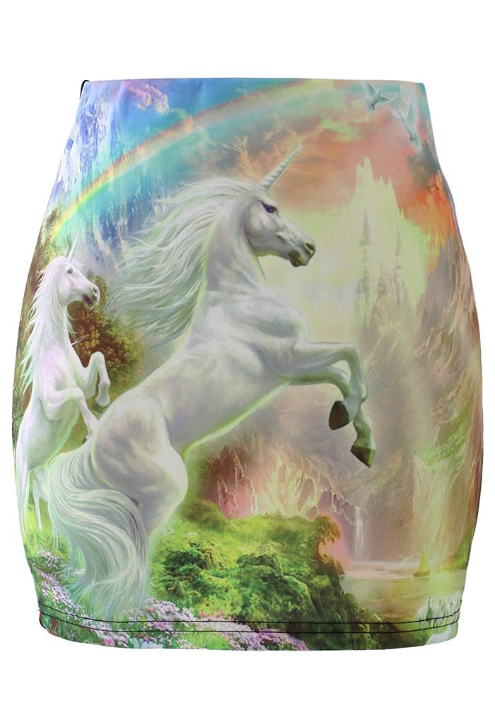 Unicorn Print Bud Skirt » Something for everyone...