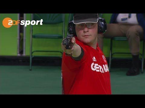Reitz holt Gold mit der Schnellfeuerpistole | Schießen | ZDF – Olympia Rio2016…