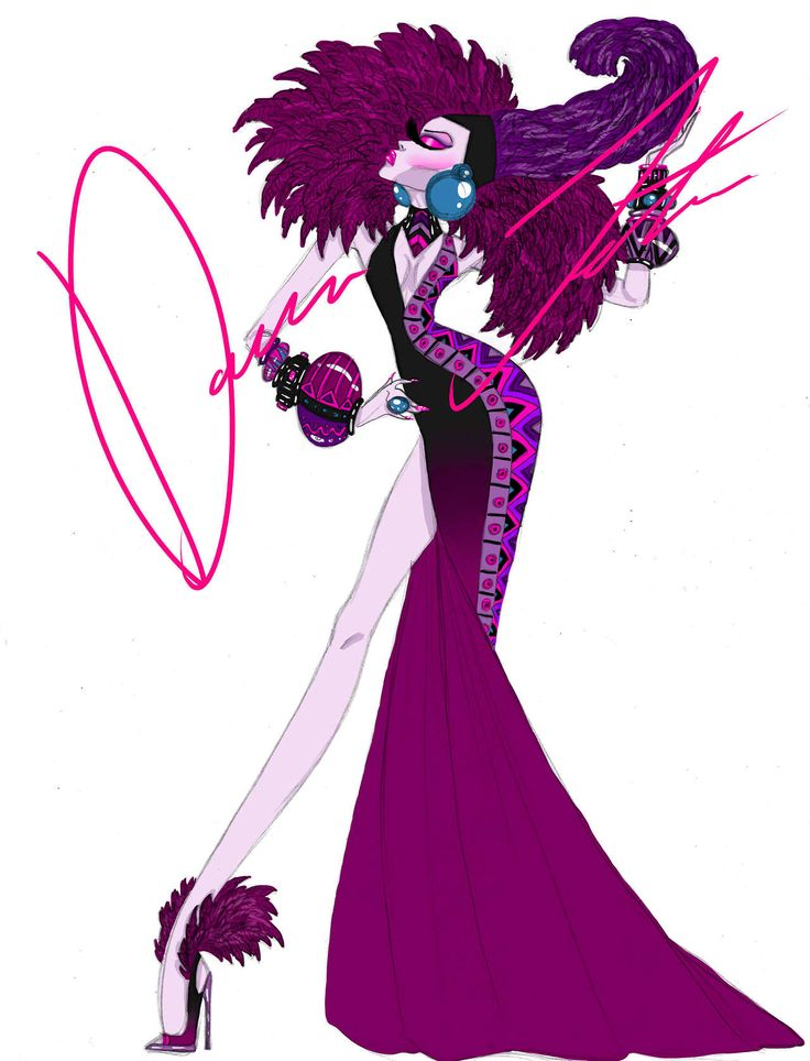 Disney villains, Yzma by Daren J - I'd rock this look and glitter/rhinestones