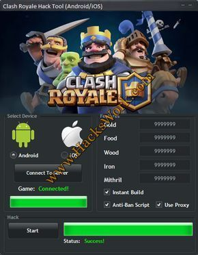 clash royale hack download new version