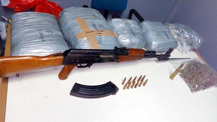 Πάνω σε 138 κιλά κάνναβης και καλάσνικοφ έπεσε η αστυνομία στο Πωγώνι Ηπείρου Ψάχνουν τους δράστες στην ευρύτερη περιοχή…