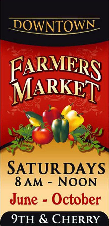 downtown farmers market banner