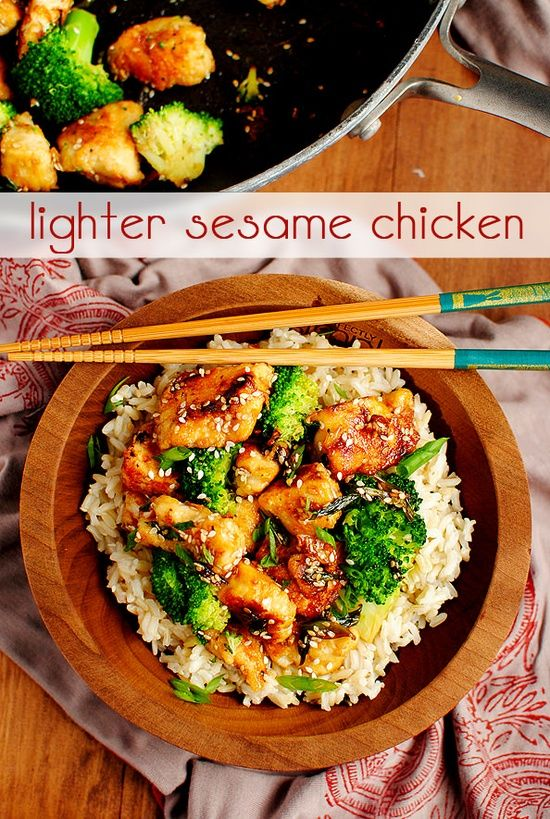 Take-Out Fake-Out: Lighter Sesame Chicken Click here for full ...