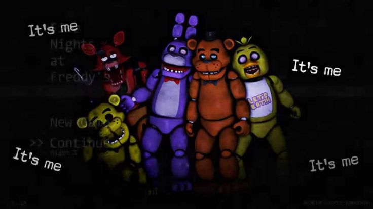 Five Nights at Freddys Noche 2 :una guardia muy chillona