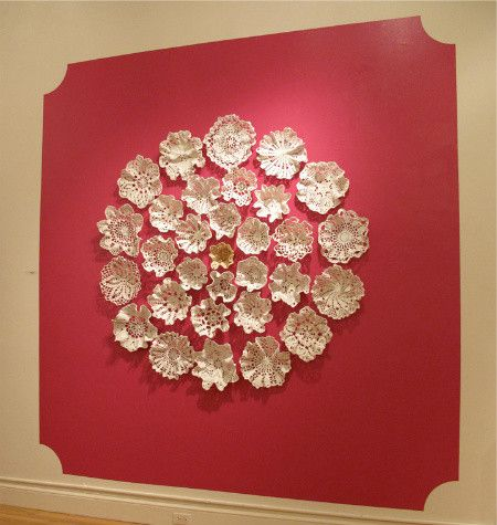 Porcelain Crochet Artist Kristen Wicklund