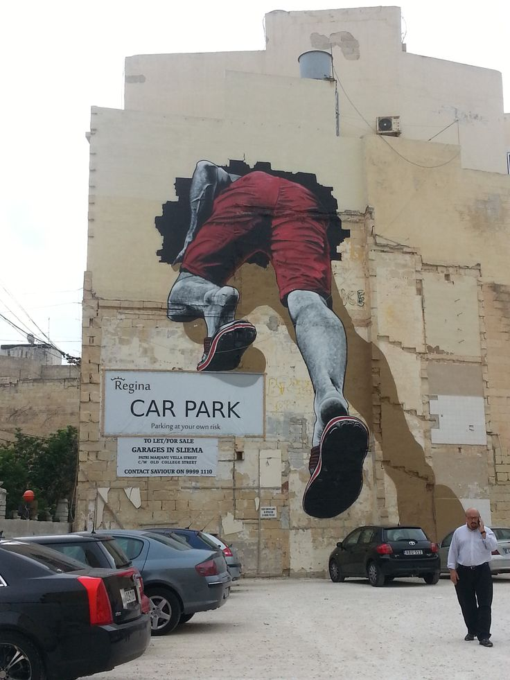 Malta/ Street art in Sliema.  During the entire stay on the island, I found two large graffiti. One in Sliema  and second  in Valletta