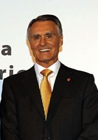 19 - Aníbal Cavaco Silva – 2006 até à presente data- Partido Social Democrata