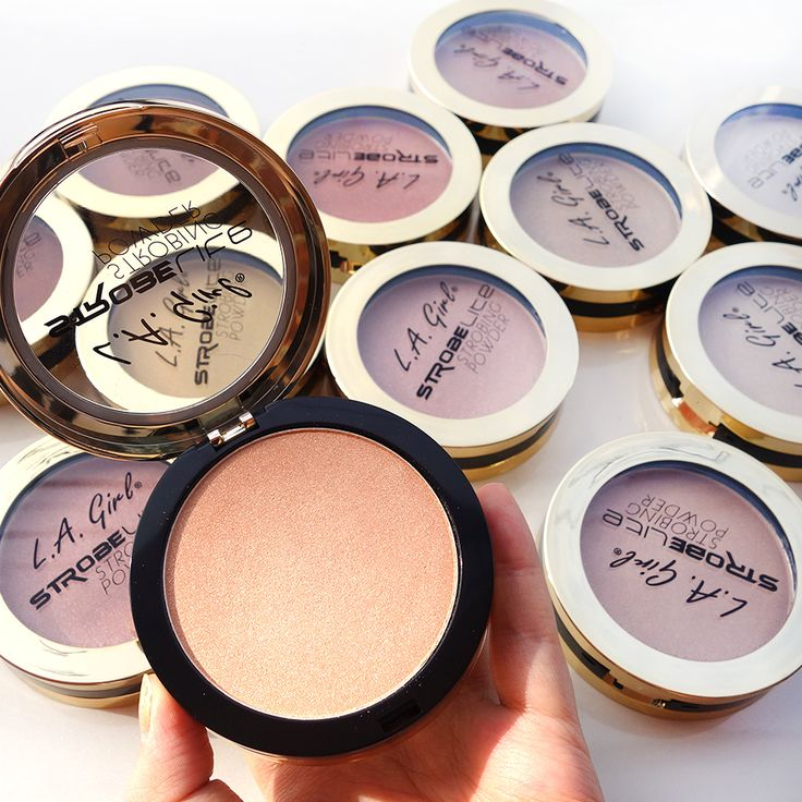 Psst!!NEW LA Girl Strobe Lite Strobing Powder has just arrived!! Add a fresh glow to highlight cheeks, brighten eyes, sculpt nose, and enhance pout.  Get yours > http://www.ikatehouse.com/la-girl-strobe-lite-strobing-powder.html