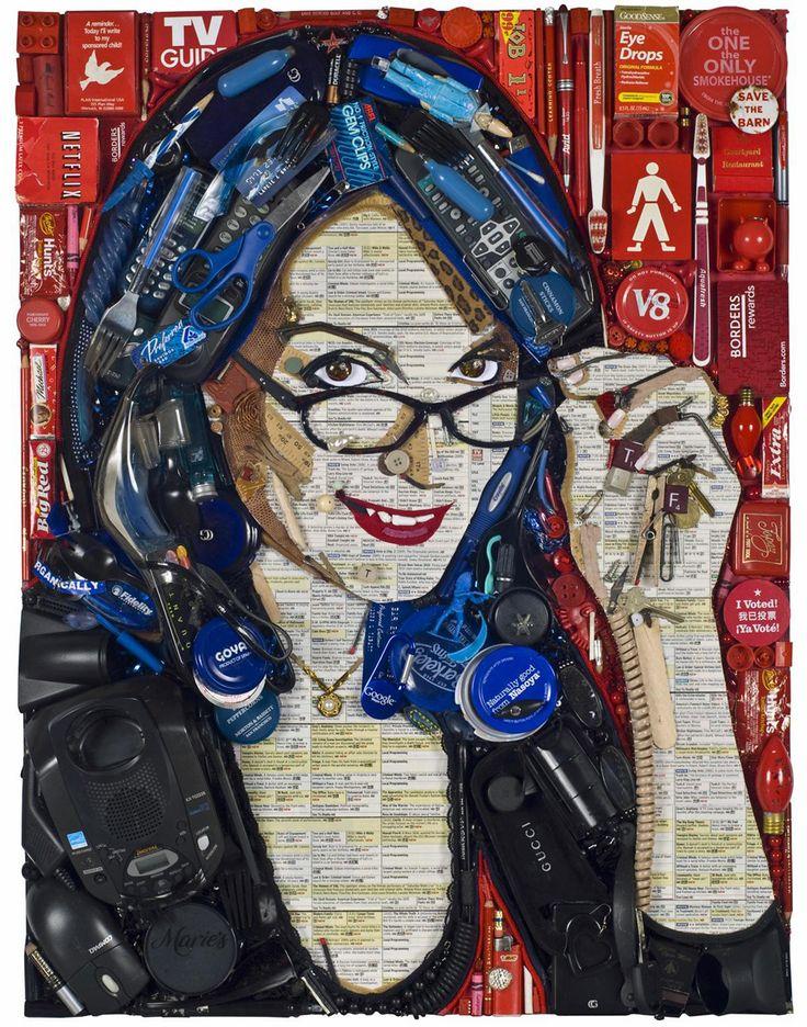 Real Mosaic portrait by Jason Mecier.