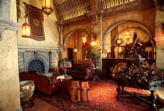 """In the lobby, some of the letters have fallen off of the directory. The fallen letters read """"evil tower u r doomed."""" 13 eerie facts about Disney's Tower of Terror"""