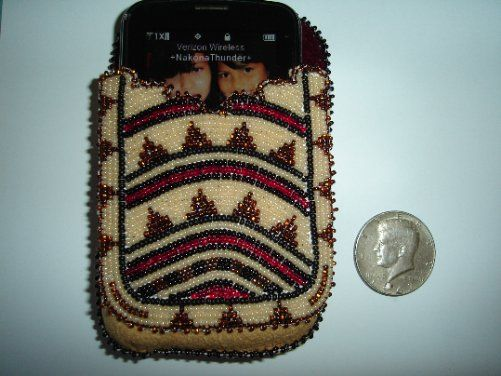 Nakonaeaglethunder - Native American Beadwork for Sale's - Cell Phone Case